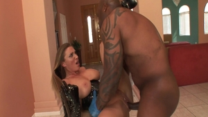 Big butt pornstar Devon Lee raw interracial fuck in HD