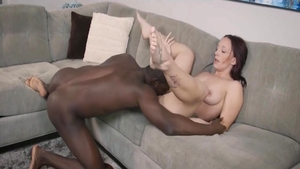 Homemade cumshot accompanied by young mature
