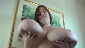 Ramming hard along with chubby BBW Lexxxi Luxe