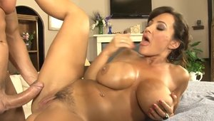 Lisa Ann got her pussy smashed sex tape