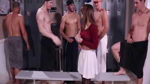 First time gangbang escorted by Sara Luvv