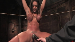 Big tits babe Charley Chase wants tied up