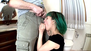 Emo got her pussy pounded