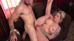 Busty stepmom Ryan Conner hardcore riding a dick
