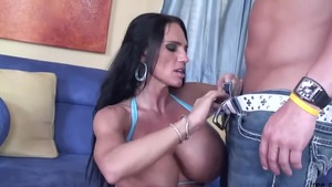 Rough pussy fucking next to incredible mature Lisa Lipps in HD