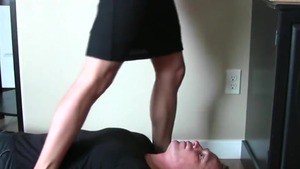 Awesome secretary needs hard pounding in heels in HD