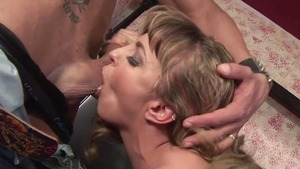 Stepmom has a taste for slamming hard