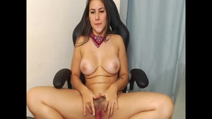 Colombian girl wishes hard pounding in shorts in HD