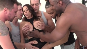 Hard pounding together with big boobs mature Alexis Fawx