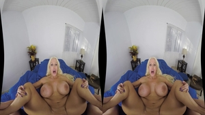 Slamming hard escorted by busty babe Alura Jenson
