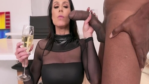 Experience nailing next to large boobs stepmom Kendra Lust