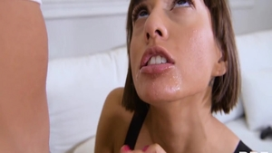 Shaved skinny latina mature Janice Griffith pussy fuck