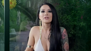Kissa Sins , Ashley Adams in company with Lena Paul