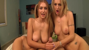 Crazy hard ramming in company with Natalia Starr