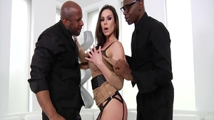 Mature Kendra Lust hard interracial pounding