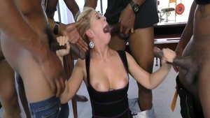 Rough group sex starring wild american herie Deville