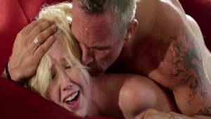 Skinny Samantha Rone with Marcus London fucked all the way