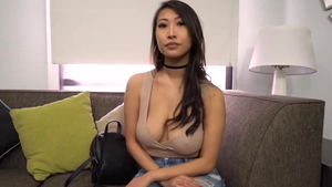 Asian celebrity tits fucking at the casting