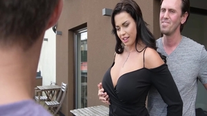 Chloe Lam together with Chloe Lamour threesome