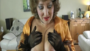 Rough sex busty amateur in sexy stockings