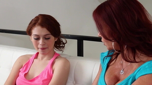 Hard pounding together with sweet Kacy Lane & Alice Green