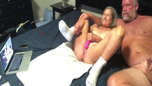 Hottest blonde hair doggy fuck