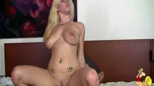 Romantic orgasm along with natural blonde babe Haley Cummings