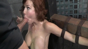 Large boobs stepmom Veronica Avluv fetish bondage