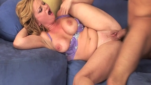 Violet Addamson is a large tits MILF