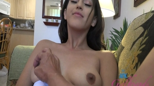 Young babe latina Sophia Leone POV fucked in the ass