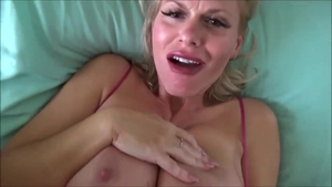 Big tits stepmom Casca Akashova sucking dick