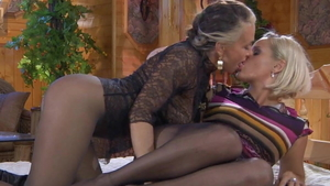 Russian enjoys greatly rough fucking wearing pantyhose in HD