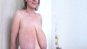 Huge tits MILF wants hard slamming in HD