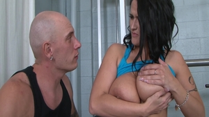 Fucked in the ass scene starring busty banging Carmella Bing