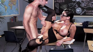 Audrey Bitoni in lingerie Pussy fucked