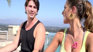 Hawt August Ames feels the need for loud sex