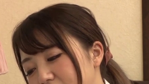 Small boobs asian teen pussy eating after school in HD