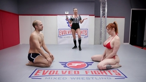 Domination rough nailing between redhead Lauren Phillips
