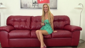 Pretty blonde babe herie Deville need gets nailed rough in HD