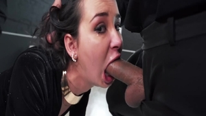 Private gangbang in company with huge tits babe Freya Dee