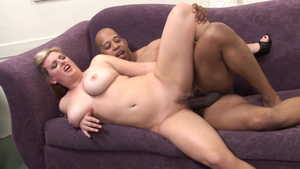 Huge boobs girl Kala Prettyman raw orgasm interracial banging