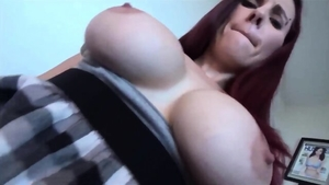 Big boobs stepsister POV cumshot