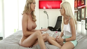 Fantasy fucking hard together with wild chick Brandi Love