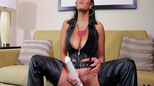 Perfect and classy supermodel in latex erotic fucks in the ass