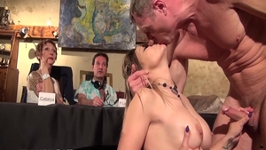 Perfect french babe likes rough fucking