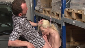 Perfect french amateur goes for good fuck