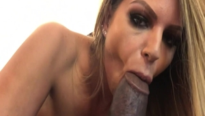 Gonzo deepthroat with Brooklyn Chase