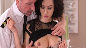 Stacy Bloom with Ennio Guardi reality cumshot