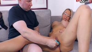 Horny german mature roleplay at the casting