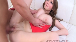 Rough group sex with Lucie Wilde and Busty Buffy